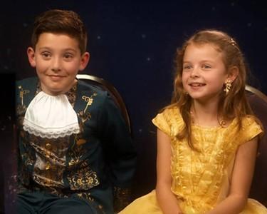 La entrevista en televisión de unos pequeños Bella y Bestia consigue emocionar a Emma Watson