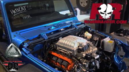¿Qué tal un Jeep Wrangler con motor de Hellcat?