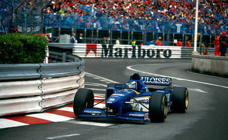 Ligier JS43 Mugen Honda - Mónaco 1996 - Olivier Panis