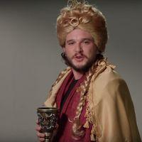 Kit Harington se viene arriba y hace el casting para varios papeles de 'Juego de Tronos' (con erótico resultado)