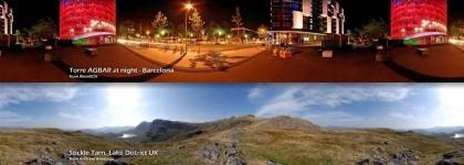 Fotografías panorámicas del mundo en viewAt