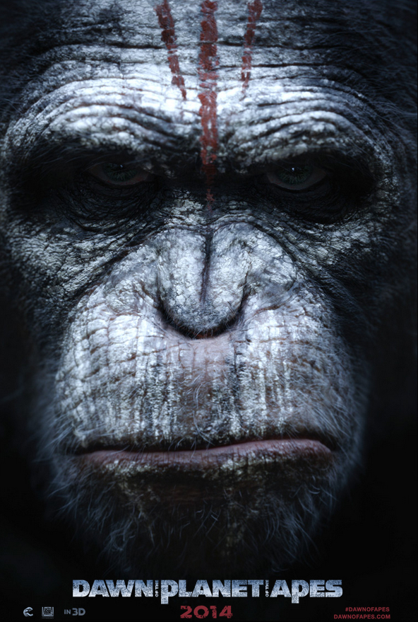 Foto de 'Dawn of the Planet of the Apes', primeros carteles (4/4)