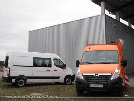 Opel Movano, presentación en Berlín (parte 2)