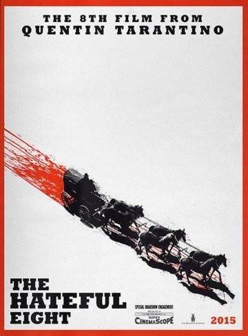Teaser póster de The Hateful Eight