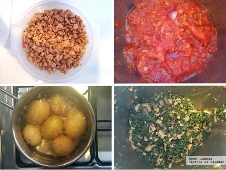 Preparacion Lasana Florentina 2