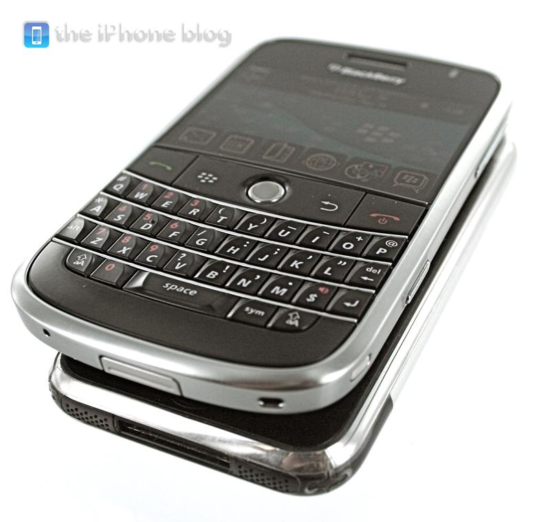 Foto de BlackBerry Bold vs iPhone (2/17)