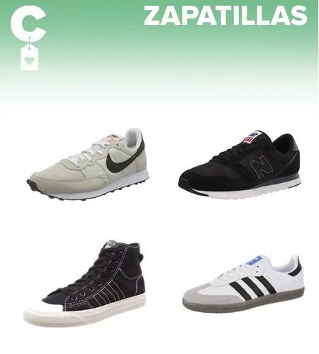 Chollos en tallas sueltas de zapatillas New Balance, Adidas o Nike a la venta en Amazon