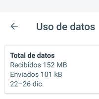 Cómo consultar el uso de datos de Google Allo para Android