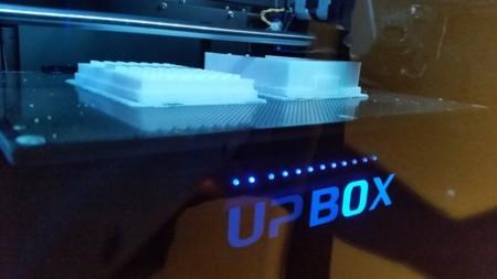 Imprimiendo una caja para la Raspberry Pi en la UP BOX