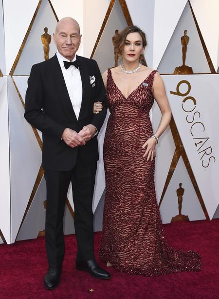 Oscars 2018 Patrick Stewart Y Sunny Ozell