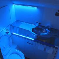 ¿Un baño de avión que se limpia solo? El sueño de todo viajero está por volverse realidad