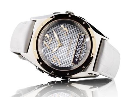 Sony Ericsson MBW-200, reloj con Bluetooth