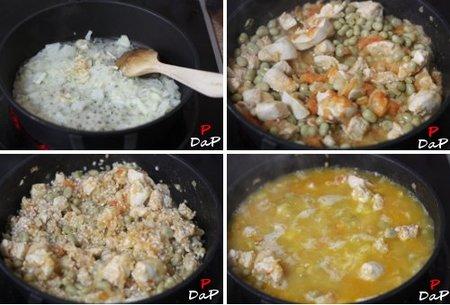 hacer arroz al horno