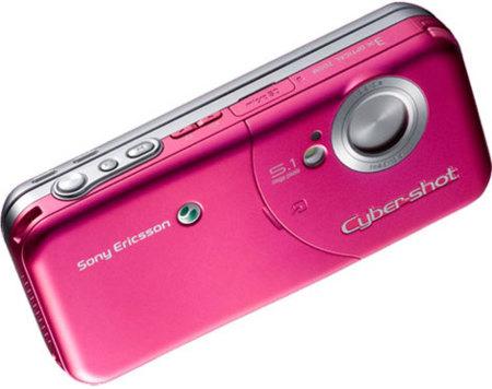 Sony Ericsson W61S con cámara de 5.1 megapíxeles