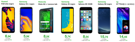 Moviles Amena Black Friday