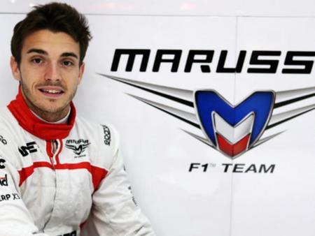 Jules Bianchi afronta su primer desafío; bajar dos kilos antes del viernes