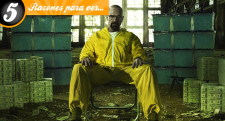 Cinco razones para ver 'Breaking Bad'