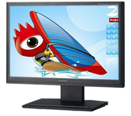 Mitsubishi RDT201WDL, monitor DisplayLink