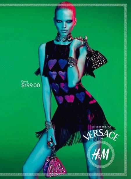 A cuenta gotas: más imágenes de Versace by H&M