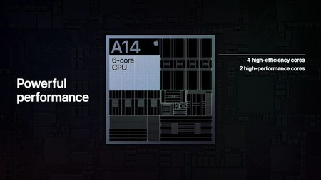 La CPU del Apple A14