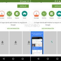 Google Play Store 5.9, ahora solo mostrará las imágenes automáticamente en conexiones Wi-Fi y LTE