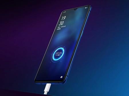 OPPO Reno Ace: el móvil con la carga rápida más rápida hasta la fecha completa su gran batería en menos de 30 minutos