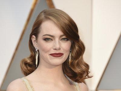 Y llegó Emma Stone, la gran estrella de los Oscar 2017