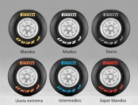 Pirelli desvela los compuestos para los próximos tres grandes premios