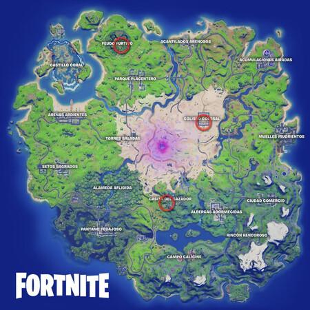 Mapa del servidor