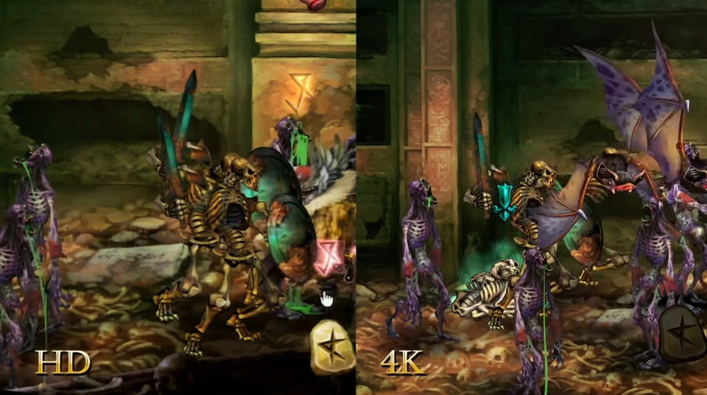 Dragon S Crown Pro Comparativa 4k 01
