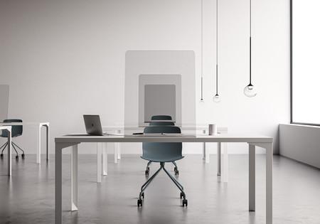 Separadores, pantallas protectoras y máxima higiene: así se transforman las oficinas para la vuelta al trabajo