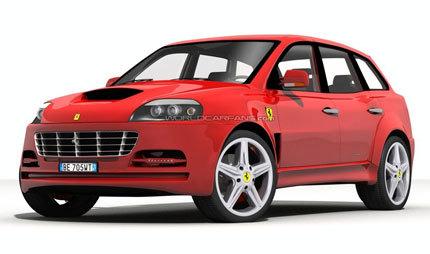 Ferrari FS 599 Fuoristrada, se veía venir...
