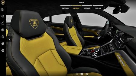 Lamborghini Urus 2018 Configurador 1