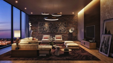 Chic City Style Living Room