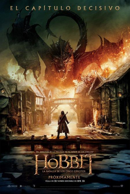 'El hobbit: La batalla de los cinco ejércitos', carteles