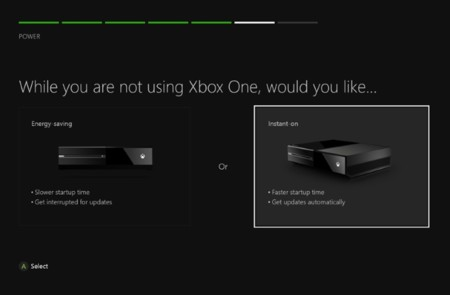 Xbox One Energy Saving