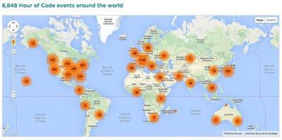 Code.org lanza la iniciativa de la Hora del código el 8 de diciembre de 2014