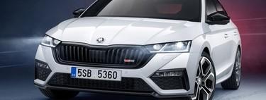 Škoda Octavia RS iV tiene alma de CUPRA, genética checa y cuerpo de sedán