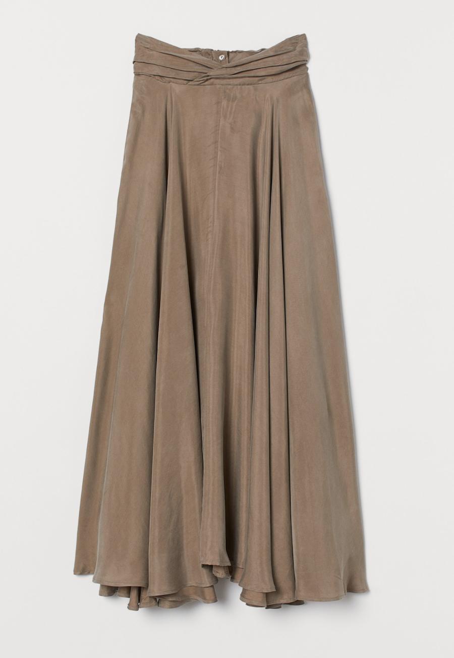 Falda de corte circular