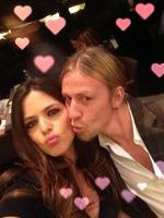 Para Guti y Romina cualquier excusa vale con tal de celebrar el amor