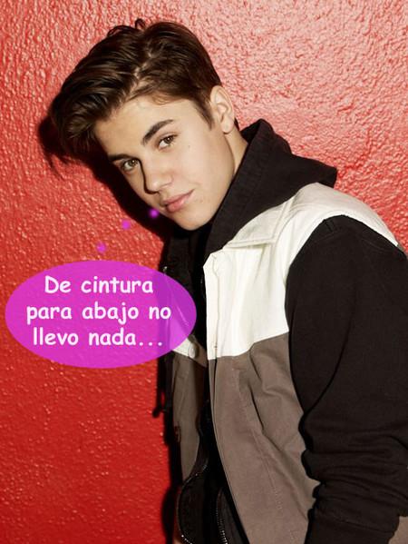 Justin Bieber, darle una serenata en bolas a tu abuela no mola nada
