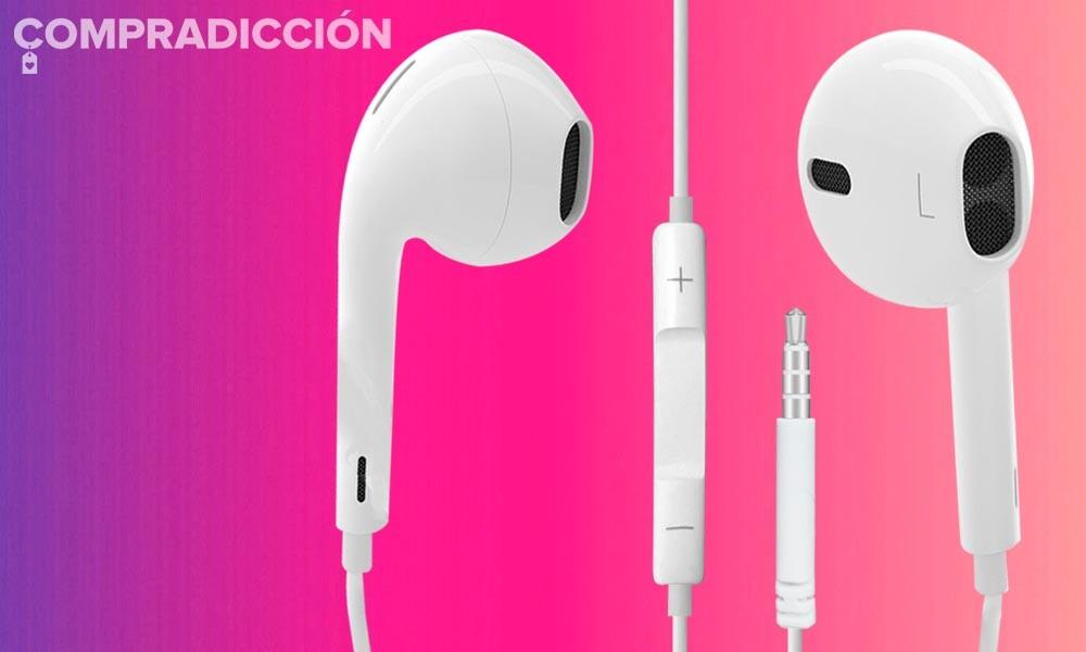 Si no tienes auriculares con manos libres para tu smartphone es porque no quieres: los EarPods de Apple con conector jack sólo cuestan 14,92 euros en Amazon