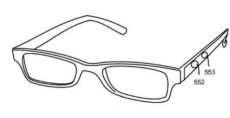 Patente de Interfaz lateral en gafas