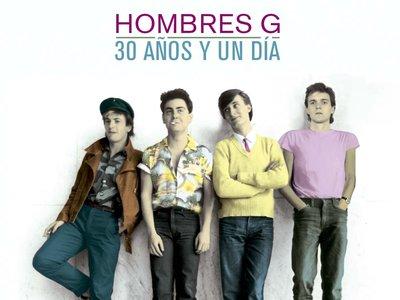 Edición Especial 30 años y un día de Hombres G por 7,99 euros