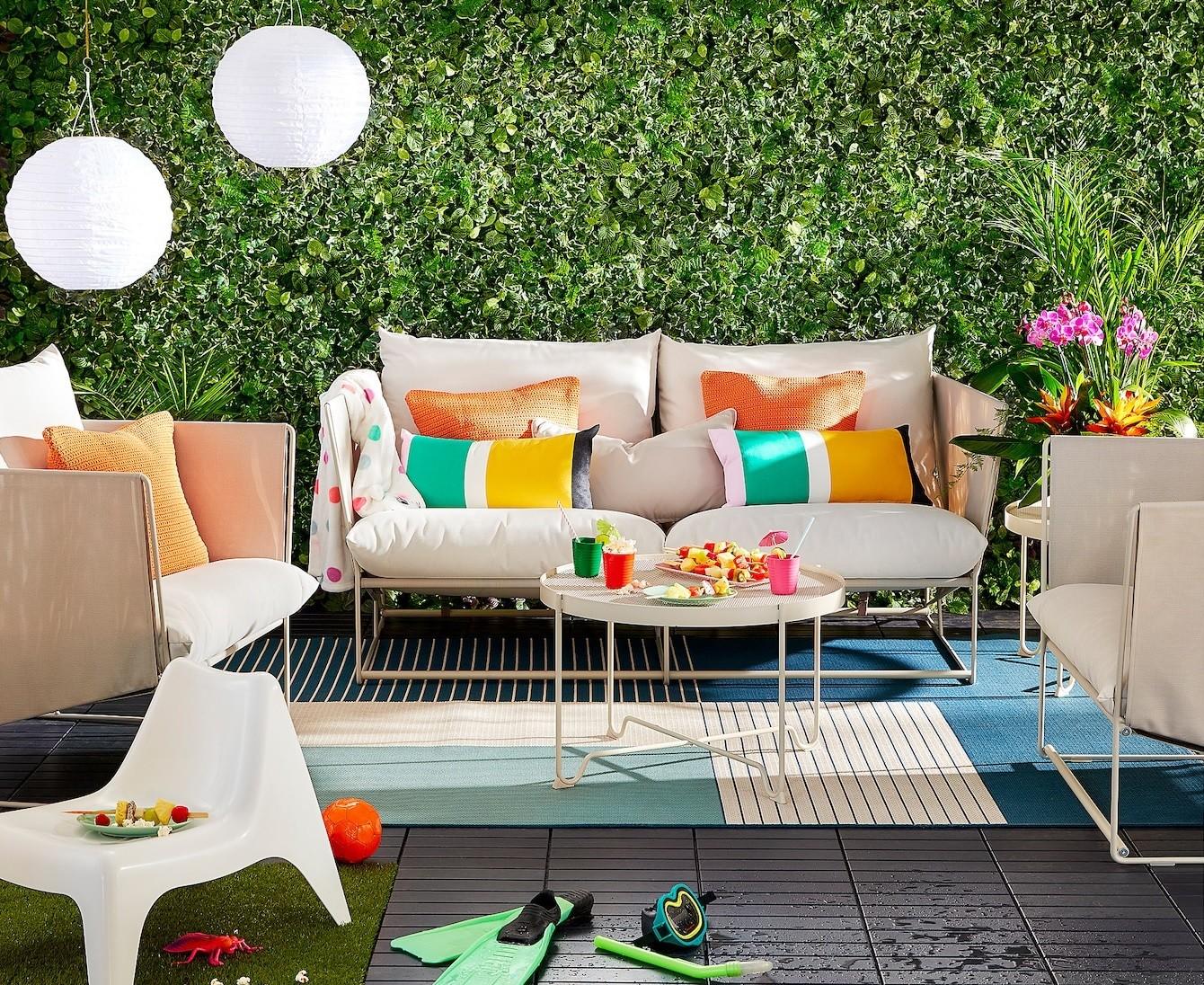 Ikea nos pone muy fácil aprovechar la terraza o el jardín