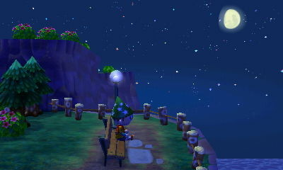 Animal Crossing New Leaf noche