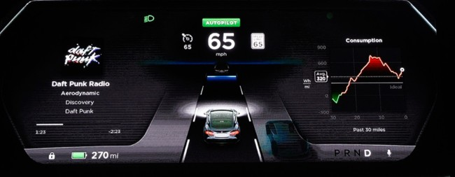 "The ""autopilot"" Tesla is in beta test - tinoshare.com"