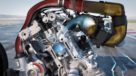 BMW M4 GTS Inyeccion De Agua Infografico