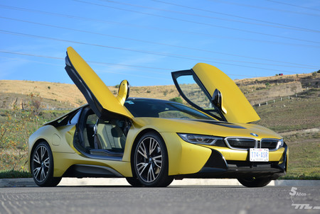 Bmw I8 Protonic Frozen Yellow 8