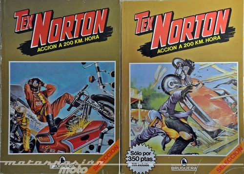 Especial comics y motos: Tex Norton, acción a 200 km/h